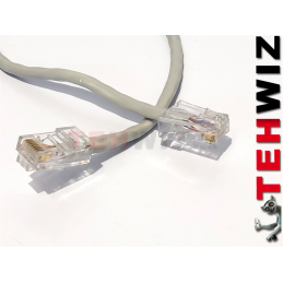 Kabel do LAN - SZARY - dla...